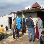 Visita al campo Yazidi al centro di Erbil