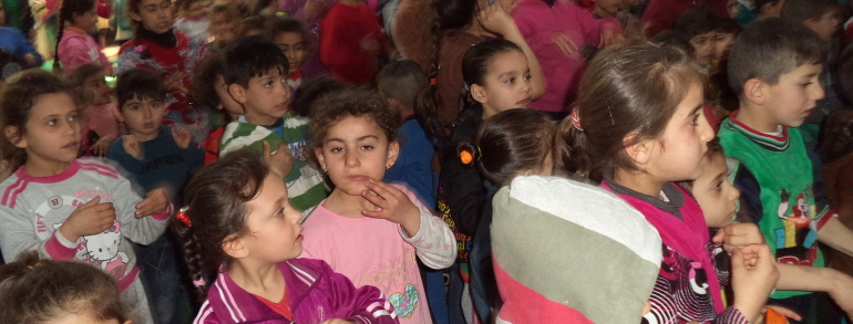 Pomeriggio di cartoni animati per i bambini ad Ankawa Mall