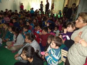 Un pomeriggio di cartoni per i bambini ad Ankawa Mall